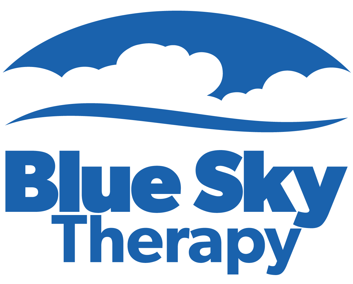 Blue Sky Therapy Logo - Blue- PNG-2